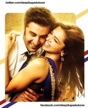 Deepika and Ranbir in a  still from 'Yeh Jawaani Hai Deewani'