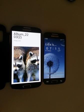 Galaxy S4 Mini Spotted