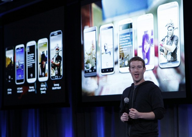 Mark Zuckerberg Launch Facebook Home