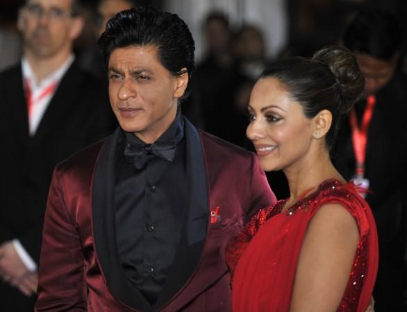 Actor Shah Rukh Khan and his wife Gauri Khan (Reuters)