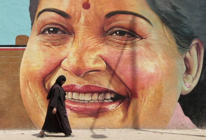 Tamil Nadu Chief Minister J Jayalalithaa Pushed for the Ban on Sri Lankan Cricketers