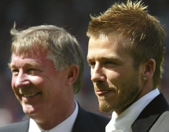 Sir Alex Ferguson, David Beckham
