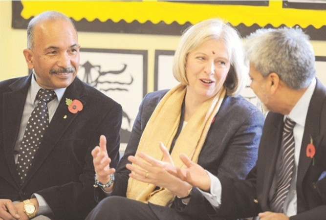 Home Secretary Theresa May might not celebrate Diwali this year with her Indian counterparts