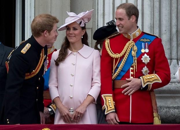 Prince Harry, Prince William, Duchess of Cambridge