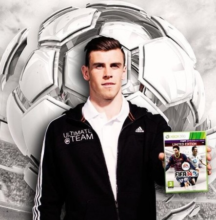Gareth Bale on the cover of FIFA