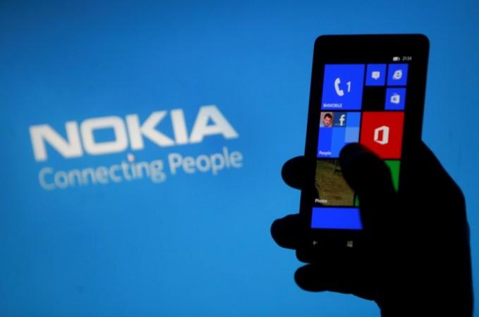 A Nokia smartphone (Credit: Reuters)