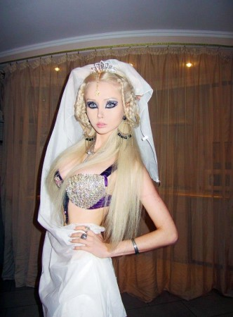 Living Barbie Doll: Valeria Lukyanova Featured in a Documentary Film My Life Online: Space Barbie