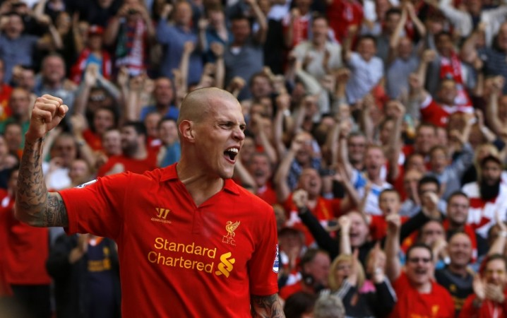 Martin Skrtel will play his first game of the season against Manchester United.