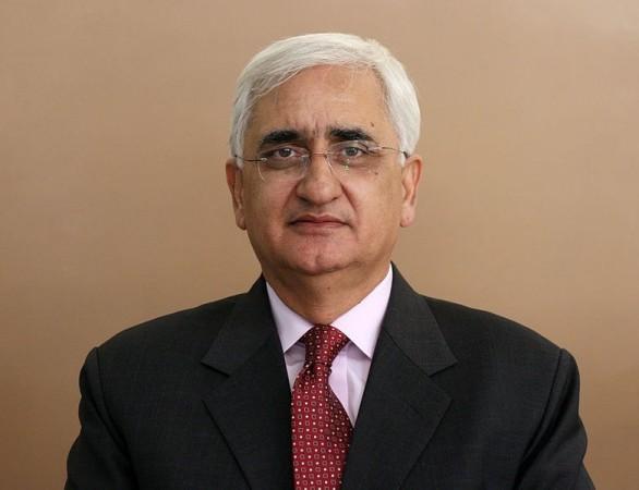 External Affairs Minister Salman Khurshid