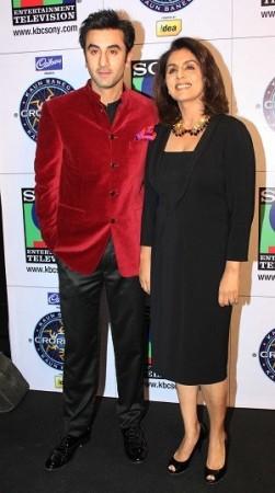 Ranbir Kapoor-Neetu (photo: Varinder Chawla)