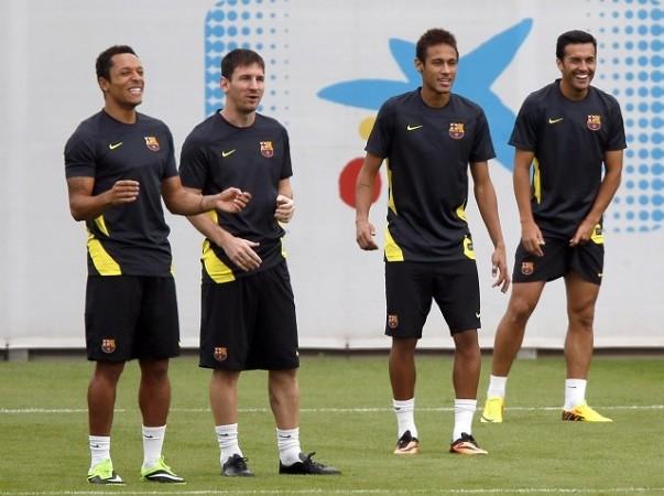 Messi Barcelona Neymar
