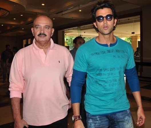 "Hrithiik and Rakesh Roshan at the first look launch event of Cartoon Network's ""Kid Krrish"" (Varinder Chawla)"