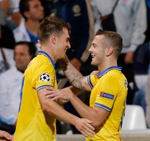 Ramsey Wilshere Arsenal
