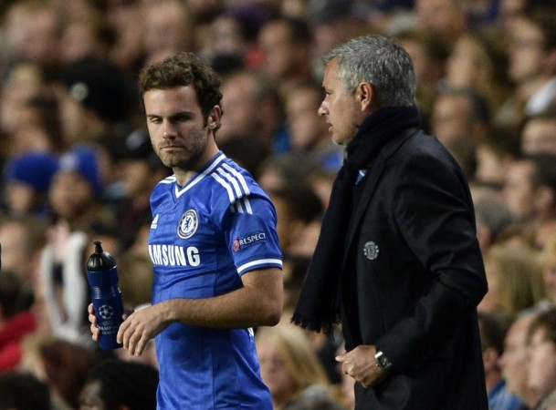 Mata Mourinho Chelsea