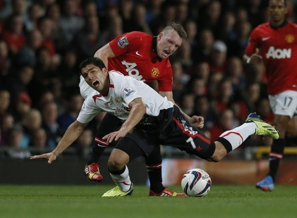 Jones Suarez Manchester United Liverpool