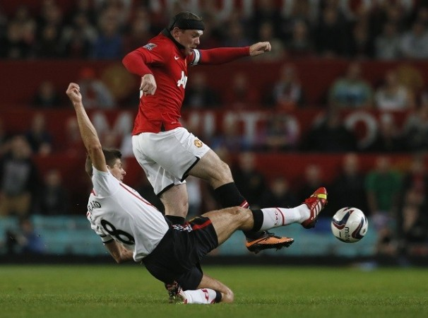 Rooney Gerrard Manchester United Liverpool