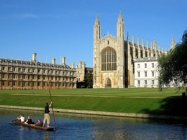 Cambridge, The Backs and King's College