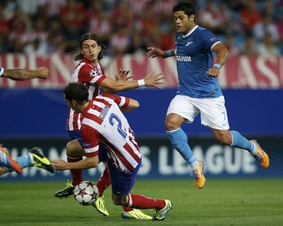 Hulk Zenit Atletico Madrid Godin