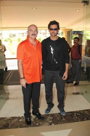 Hrithik Roshan, Rakesh Roshan