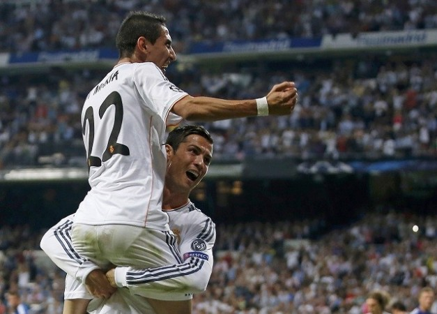Ronaldo Di Maria Real Madrid