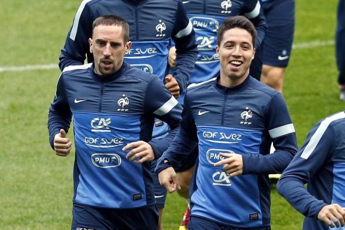 Nasri Ribery France