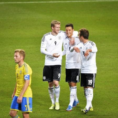 Schurrle Ozil Gotze Germany