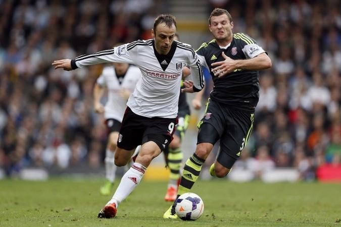 Berbatov Pieters Fulham Stoke