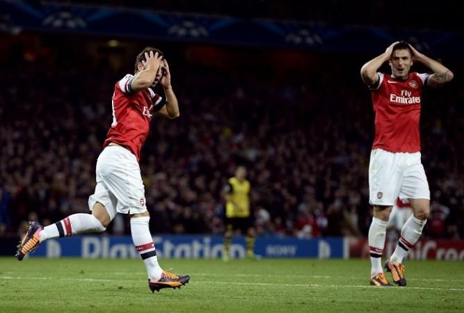 Arsenal Cazorla Giroud