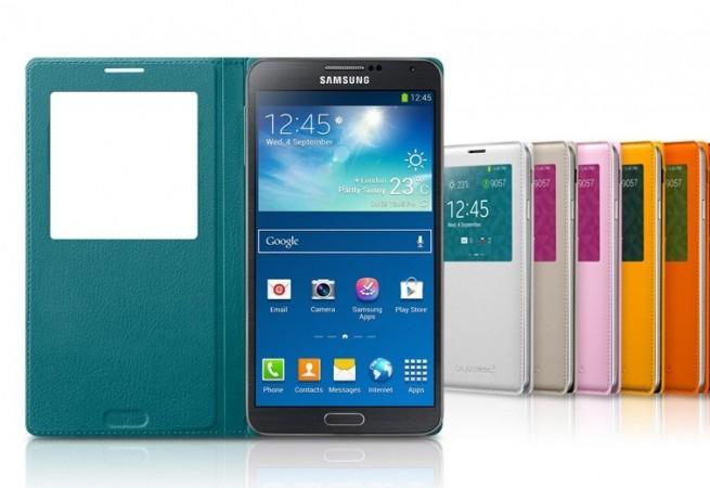 Flip Case for Samsung Galaxy Note 3 (Credits: www.samsung.com)