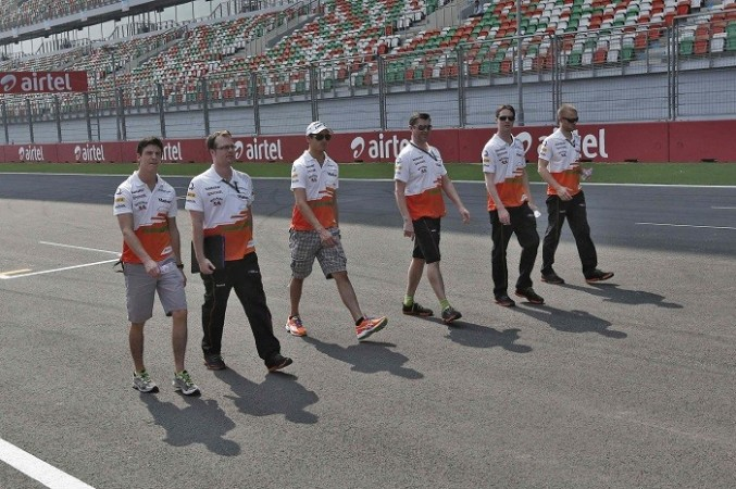 Sutil Force India