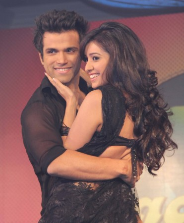 Ritwik Dhanjani and Asha Negi (photo Varinder Chawla)