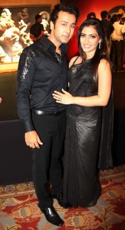 Master Chef winner Ripudaman Handa and Shivangi Verma (photo Varinder Chawla)