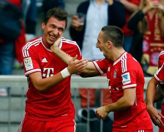 Mandzukic Ribery Bayern Munich