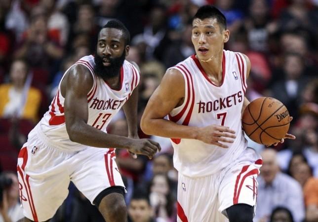 Harden Jeremy Lin Houston Rockets