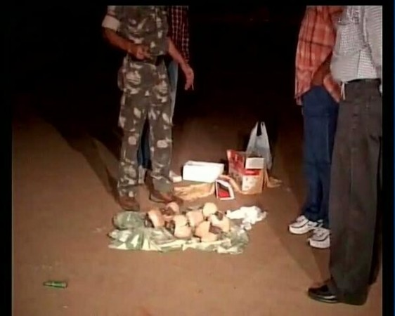 Live Bombs recovered by NIA and Jharkhand Police