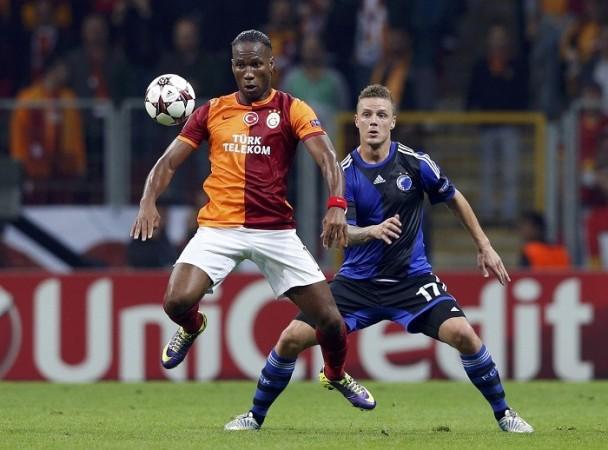 Drogba Galatasaray Sigurdsson Copenhagen