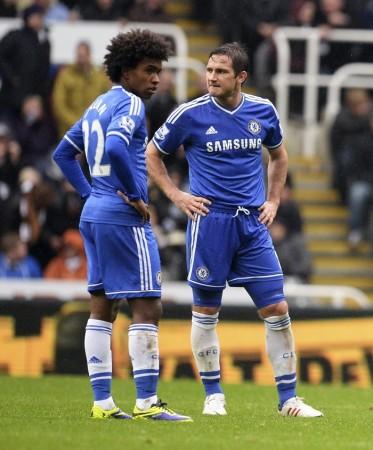 Lampard Willian Chelsea