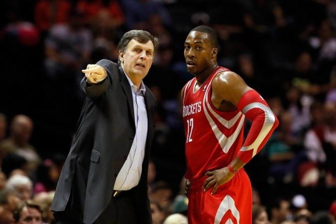 Dwight Howard Kevin McHale Houston Rockets