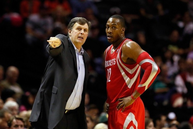 Dwight Howard Kevin McHale Houston Rockets