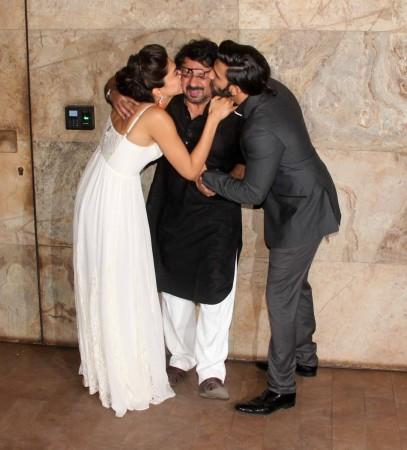 Sanjay Leela Bhansali, Deepika Padukone, Ranveer Singh