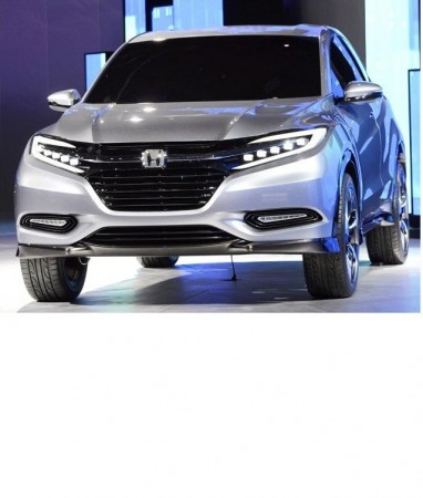 The Honda Urban SUV concept is displayed at the North American International Auto Show in Detroit, Michigan on January 14, 2013.