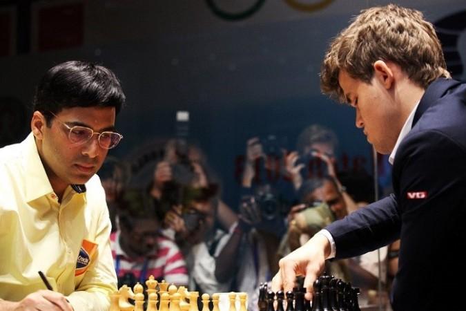 Viswanathan Anand Magnus Carlsen Chess