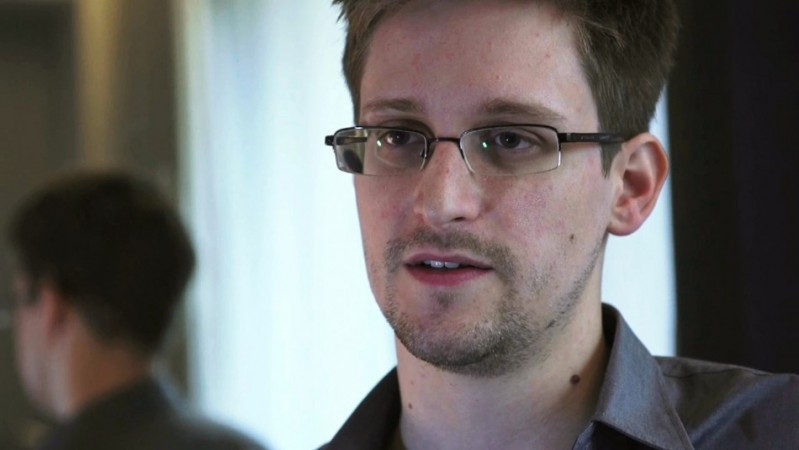 NSA Whistleblower Edward Snowden, an Analyst With a U.S. Defence Contractor, is Interviewed by The Guardian in His Hotel Room in Hong Kong
