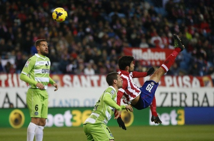 Getafe Atletico Madrid Diego Costa