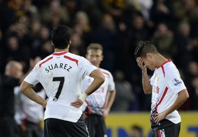 Liverpool Suarez Coutinho