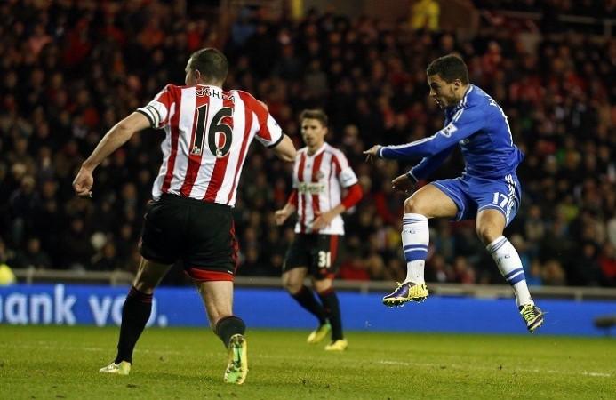 Hazard Chelsea Sunderland