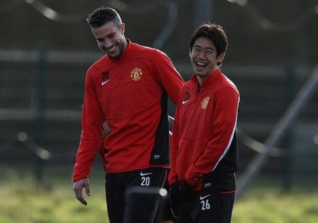 Manchester United Van Persie Kagawa