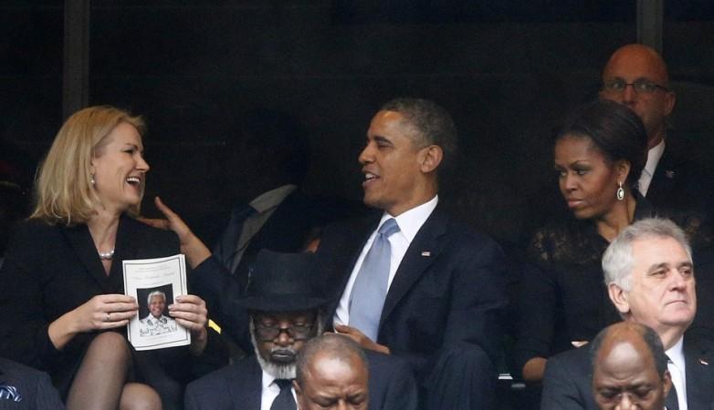 Barack Obama, Thorning Schmidt, Michelle Obama