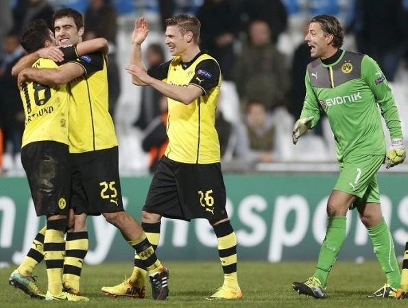 Borussia Dortmund Piszczek Weidenfeller Sahin Sokratis