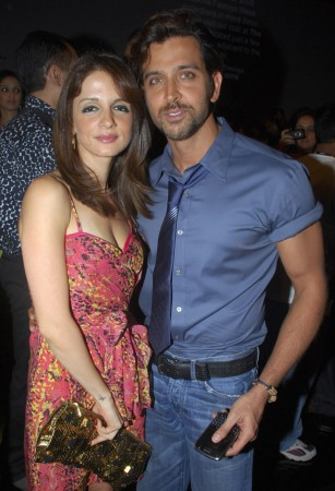 Hrithik Roshan and his estranged wife Suzanne